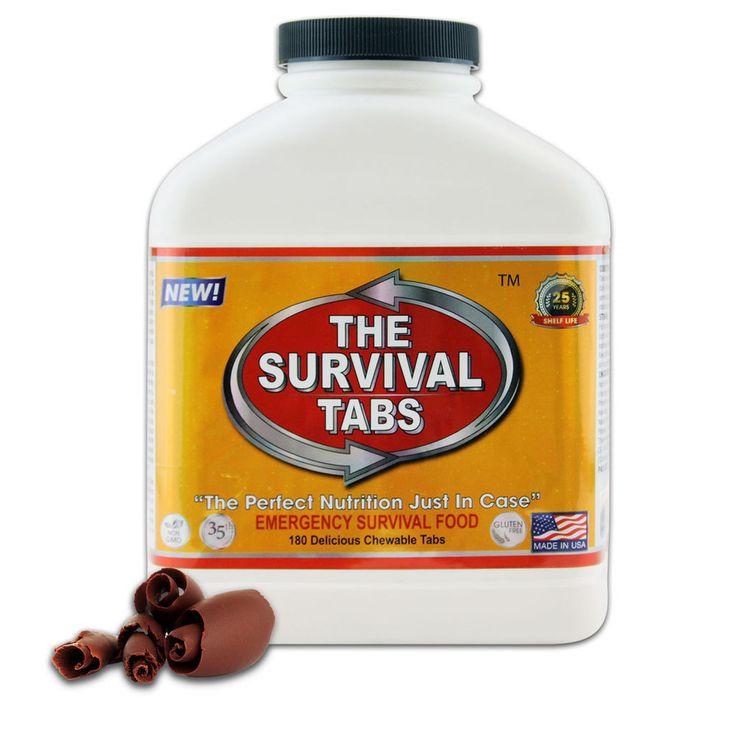 15 Meal Servings Camping Backpacking Survival Food Emergency Rations #TheSurvivalTabs