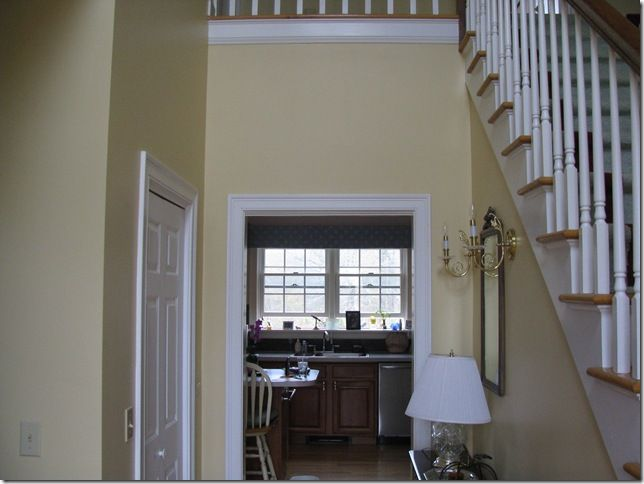 Benjamin Moore Vellum Yellow Paint Colourswall Colorspaint Samplesinterior