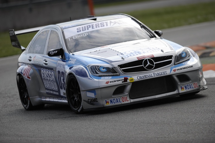 The Official Mercedes C63 AMG of Thomas Biagi