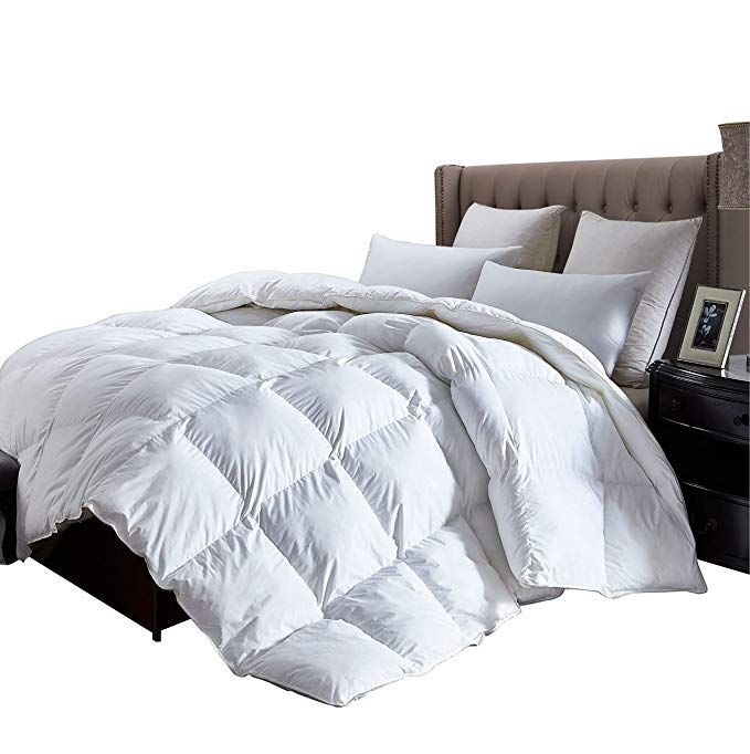 Luxurious King Size Lightweight Goose Down Comforter Duvet Insert