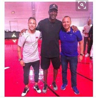 Neymar his dad an Michael Jordan