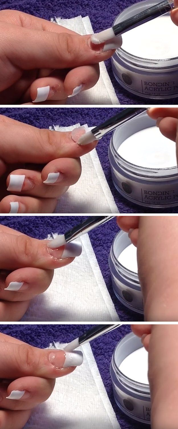 DIY Acrylic Nails: Skip the Salon and Do-It-Yourself | Easy Nail Art Tutorial You Can Do At Home by DIY Ready at http://diyready.com/diy-acrylic-nails/