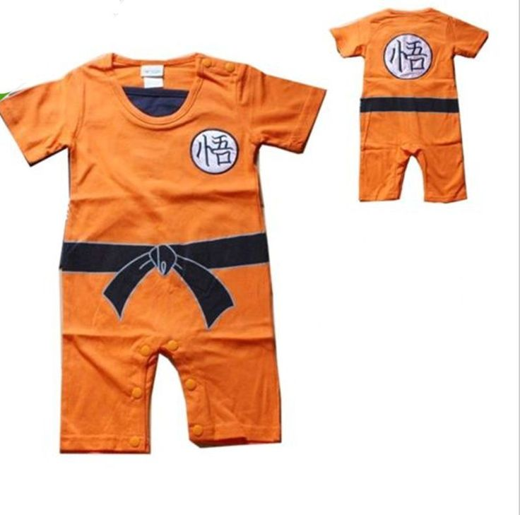 Enjoyable Toddler Fancy Dress Goku Kung Fu Jumpsuit Baby Costume Outfit Romper   #New #Everyday