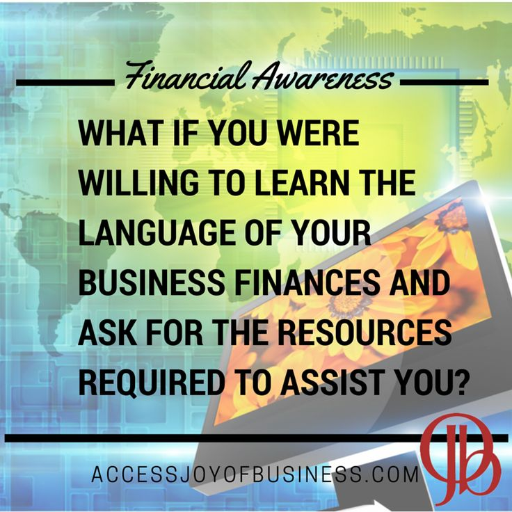 What if #business finances were just another language you could learn and not something you had to dread? #finanicaljoy #joyofbusiness