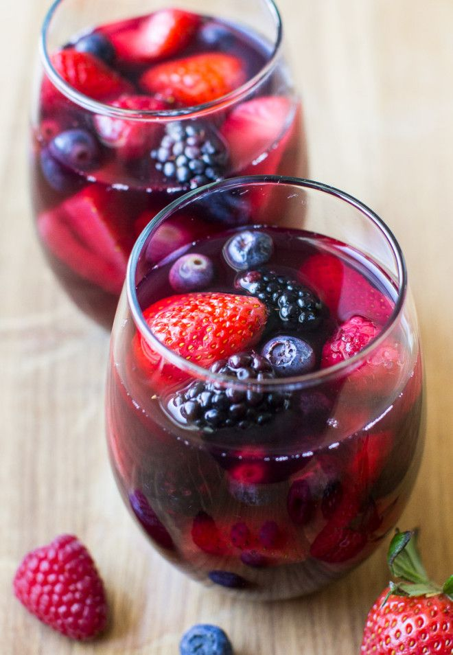 Your new favorite sangria is made with iced tea! Berry-licious Iced Tea Red Sangria is an easy cocktail made with tea, sweet red wine, and fresh berries.