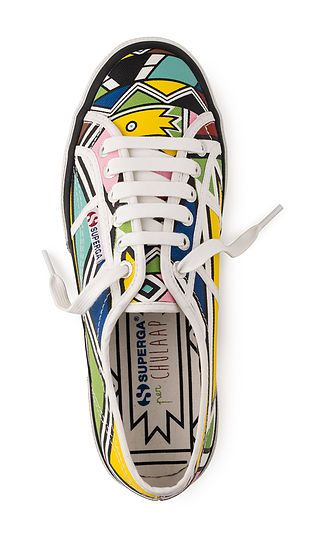 Chu Suwannapha x Superga African print shoes