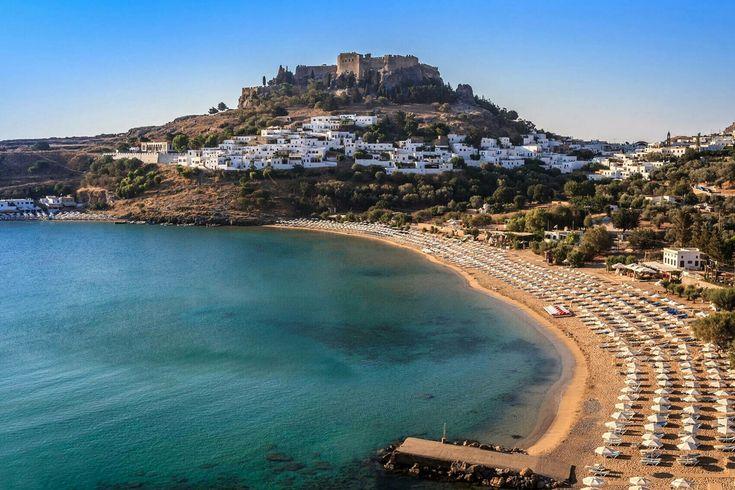BEAUTIFUL LINDOS.         GREEK ISLAND OF RHODES