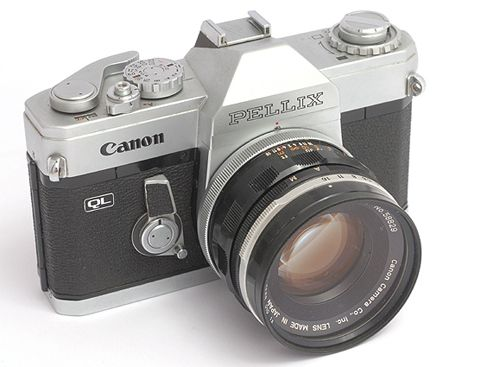 Old Style Canon Slr Camera Tattoo Inspiration