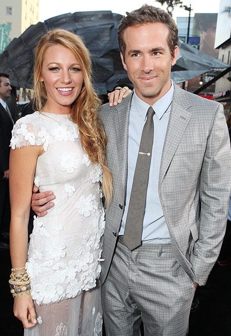 The new Mr. & Mrs. Ryan Reynolds - must try to be happy for them!