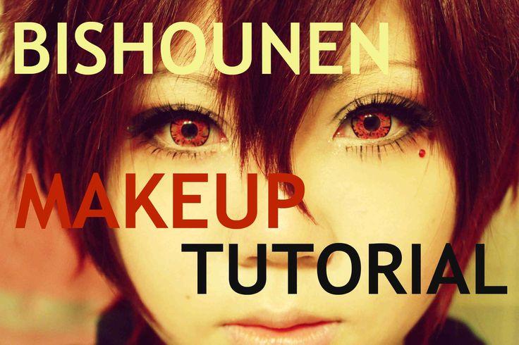 How to Look Bishounen [Makeup Tutorial for COSPLAY]