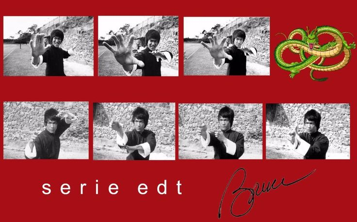 COLLECTION - ENTER THE DRAGON - EDT  23 PHOTO  TAILLE  10 X 15  NEUF