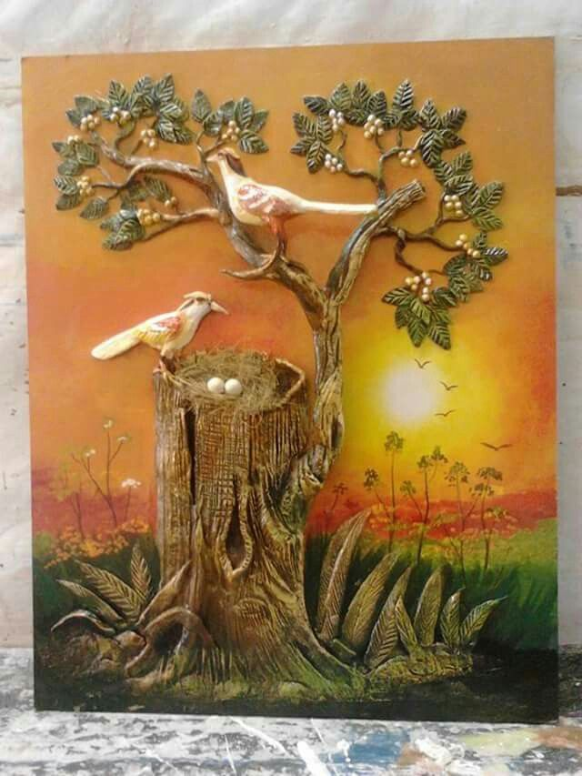 270 best mural images on pinterest mural art clay art for Ceramic mural designs