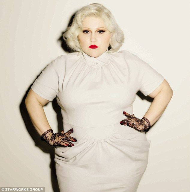Singer Beth Ditto unveils plus size collection inspired by her punk past | Daily Mail Online