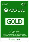 Xbox Live 12 Month Gold Membership  Digital Code