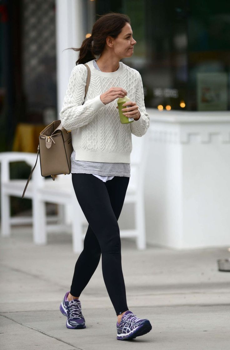 Katie Holmes Street Style - Out in Los Angeles, December 2014