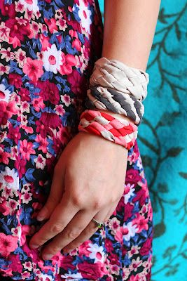 Creative upcycle and downcycle ideas   Recycled Crafts   CraftGossip.comIdeas, T Shirts Bracelets, Old Shirts, Braids Bracelets, Diy Bracelets, Recycle Crafts, Shirts Tutorials, Diy Shirts, Recycle T Shirts