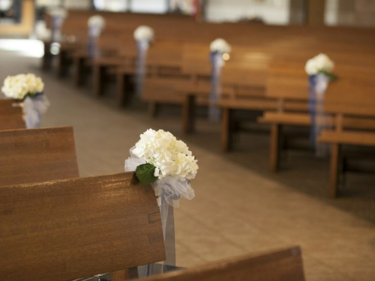 13 best Bows images on Pinterest | Wedding church, Wedding pews and ...