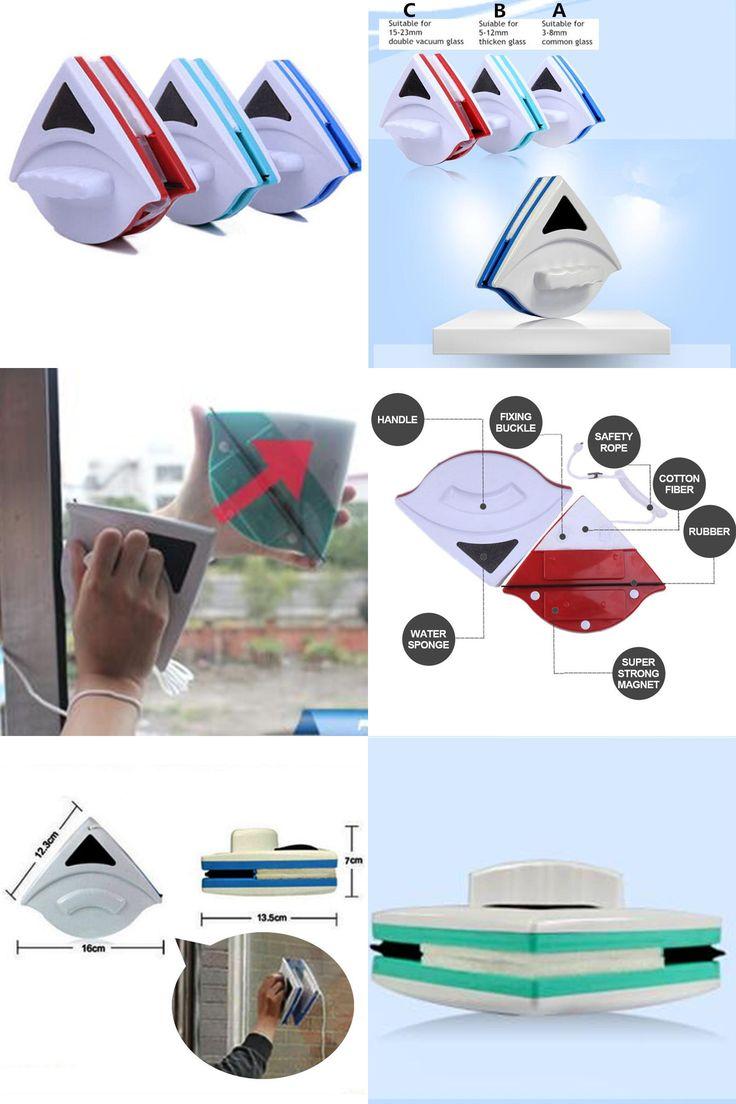 [Visit to Buy] Magnetic brush for washing windows,Cleaning Tools Brush for windows,Wash window magnetic brush #Advertisement