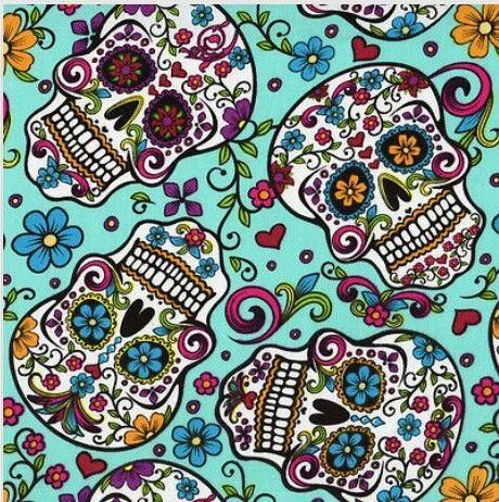 Sugar skulls! Day of the Dead Nov.2nd!