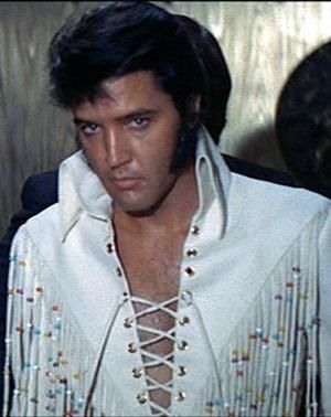 Elvis in the Fringed Suit