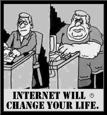 internet change our life Explore the pros and cons of the debate does technology make our lives  in the internet,  live a happy and fulfilled life our lives being better.