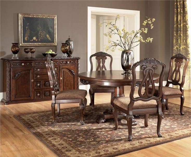 Montana s Home Furniture   Houston  TX North Shore Round Pedestal Table w   4 Side Chairs20 best New House images on Pinterest   Antique sofa  Dining room  . Formal Dining Room Sets Houston Tx. Home Design Ideas