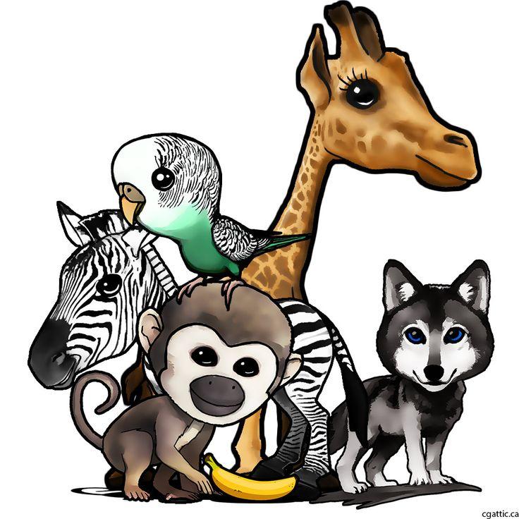 25 Best Ideas About Cute Cartoon Animals On Pinterest