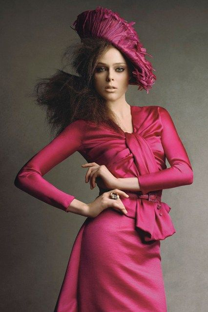 John Galliano in Vogue shoots and covers (Vogue.com UK) December 2007, Coco Rocha in Dior