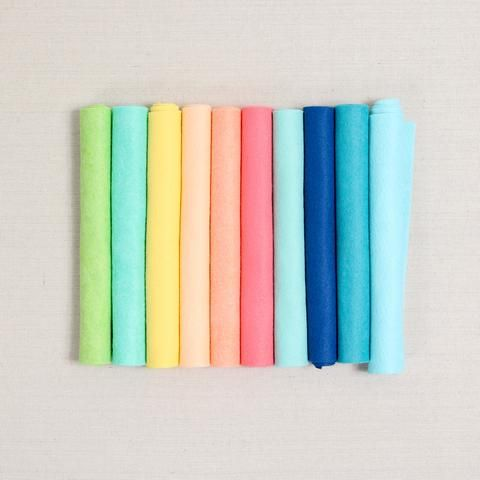 Endless Summer Felt Felt Garland Wool Felt