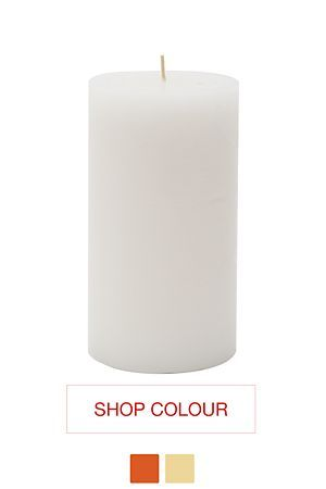"""This fragranced 10x20cm pillar candle fills the air with a calming atmosphere. The wax coated cotton wick of this candle is expected to burn for 120 hours.<div class=""""pdpDescContent""""><BR /><b class=""""pdpDesc"""">Dimensions:</b><BR />L10xH20 cm</div>"""