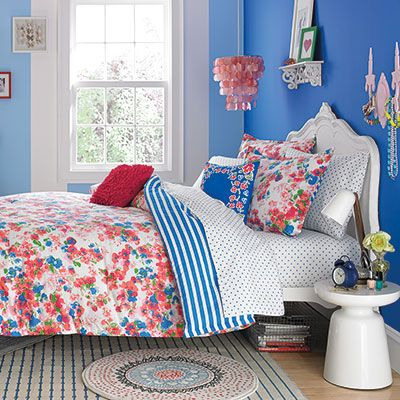 Teen Vogue Rosie Posie Comforter Set from Beddingstyle.com