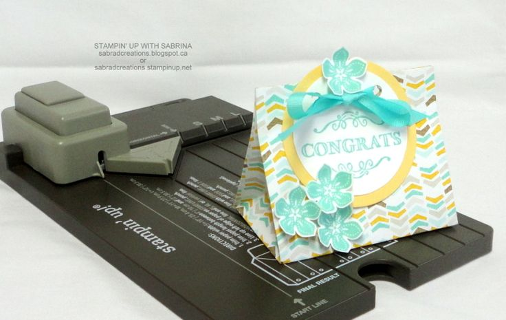 INTRODUCING the GIFT BAG PUNCH BOARD - 5