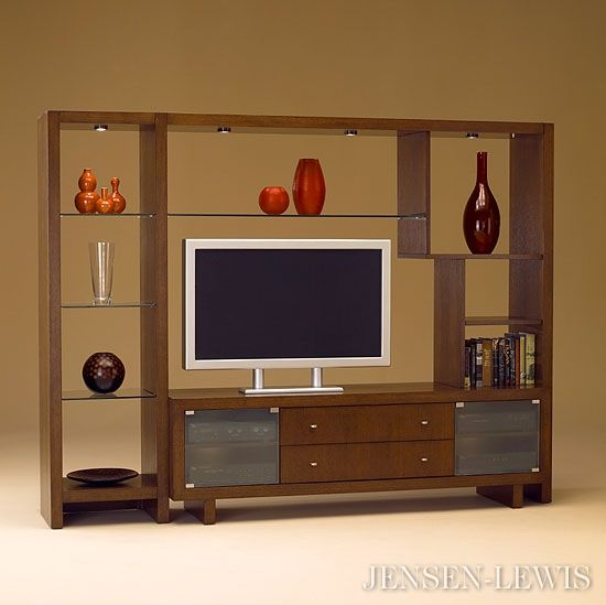 The Visions Wall Entertainment Center Is Part Of A
