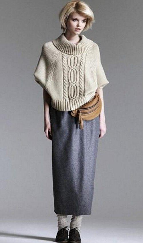 вязанные вещи - кардиганы, твидовые шерстяные юбки средней длинны, ... - мастераполимернойглины.рф