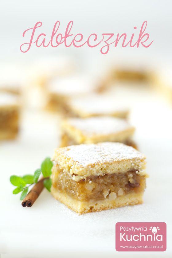 Najlepszy, klasyczny jabłecznik http://pozytywnakuchnia.pl/jablecznik/  #ciasto #przepis #szarlotka #jablecznik #jablka