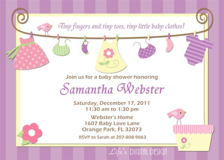 free baby shower invitations on pinterest baby shower invitation