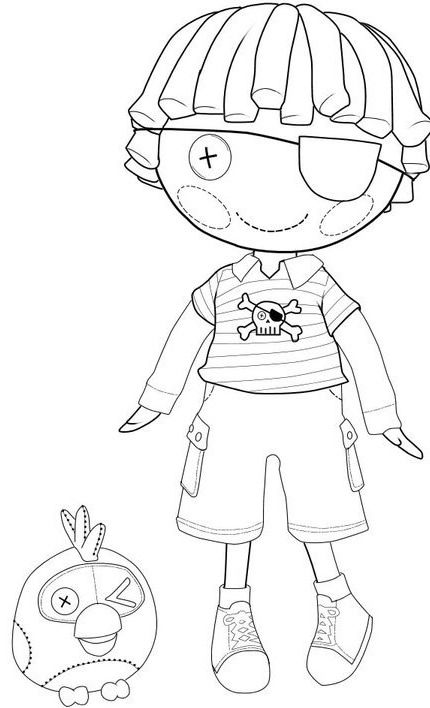 lalaloopsy coloring pages facebook likes - photo#2