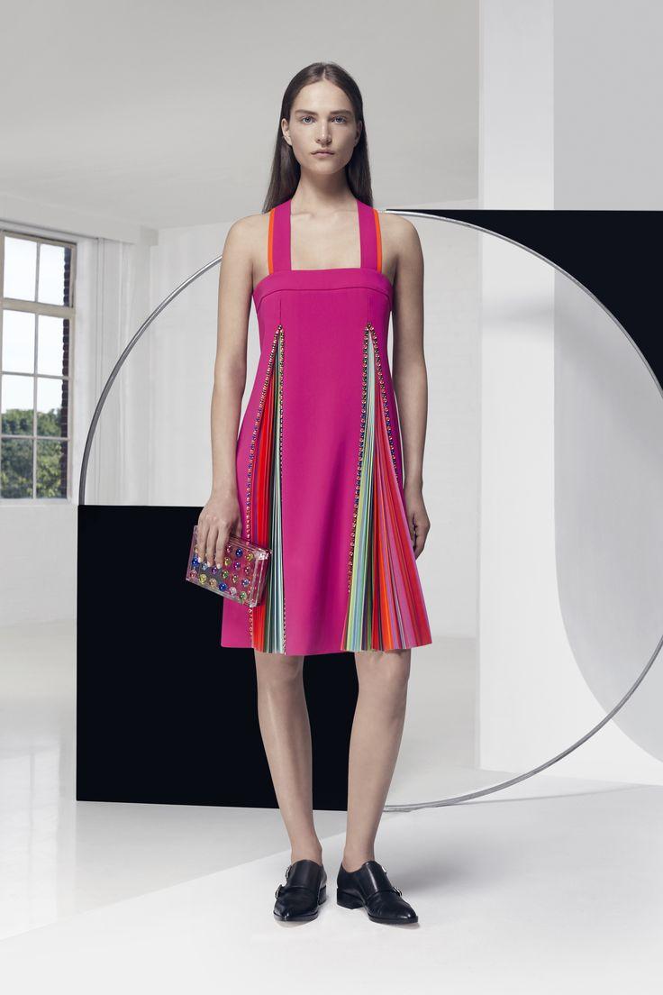 Look 2. Zoid Dress & Small Box Clutch