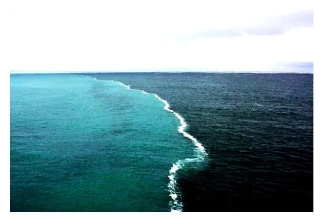 alaska place where two oceans meet and dont mix