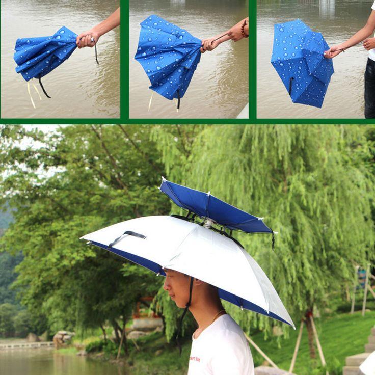 Newest Fashion Double layer windbreak Outdoor sun protection UV Fishing umbrella #Affiliate