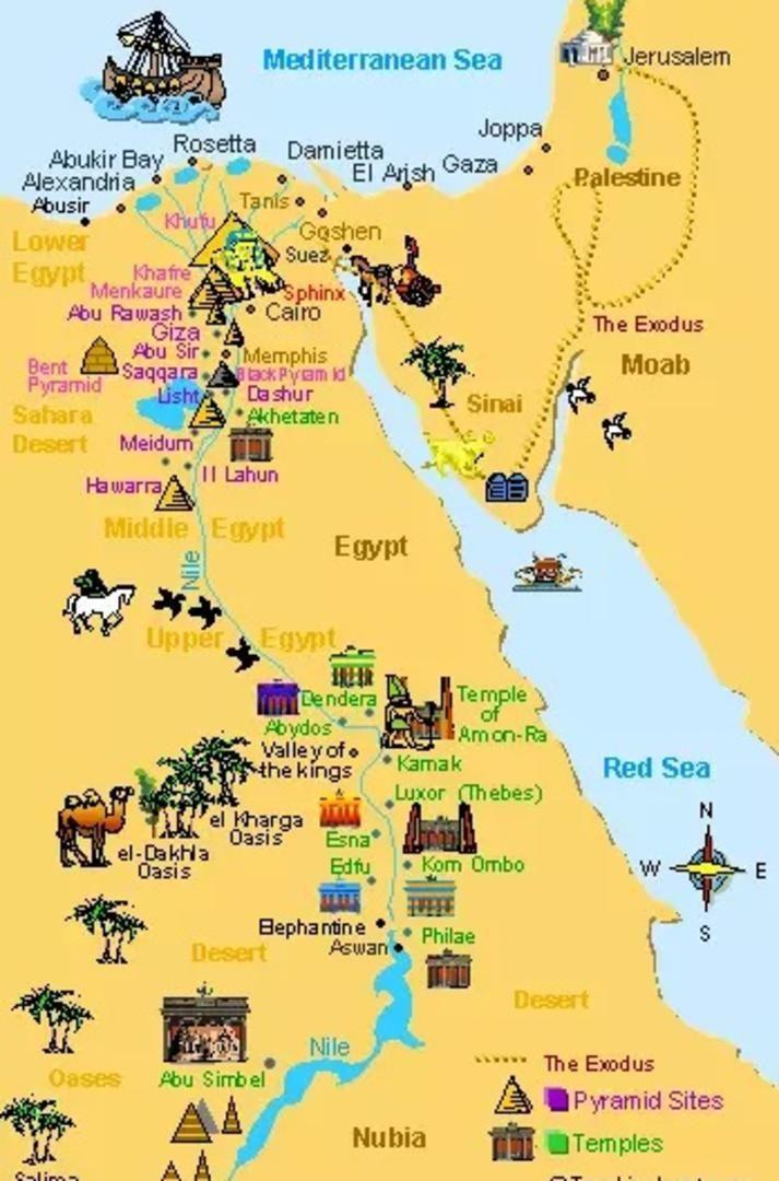 Cartina Turistica Egitto.Risultati Immagini Per Pyramids In Egypt Map Antico Egitto Egitto Mappe