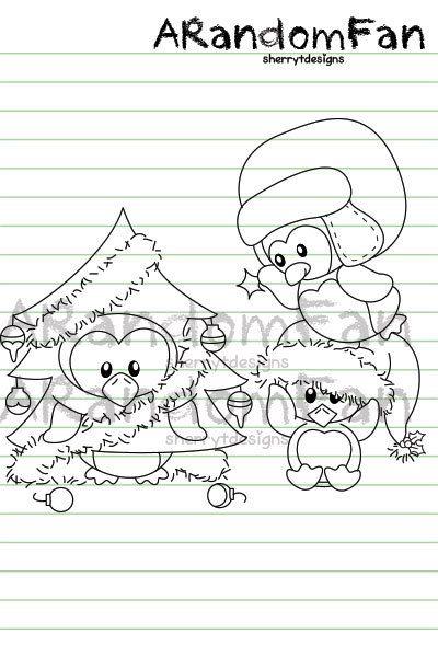 Digital Stamps- Christmas Decor