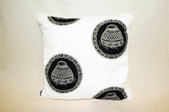 Black Pots Cushion