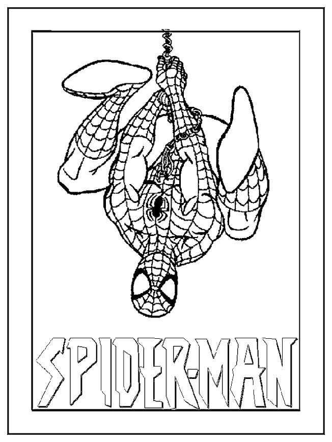 20 best Värityskuvat ~ Spider Man images on Pinterest | Colouring ...