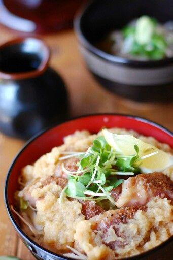 草太郎庵 蕎麦屋のあか牛ステーキ丼―南小国の食べ物―