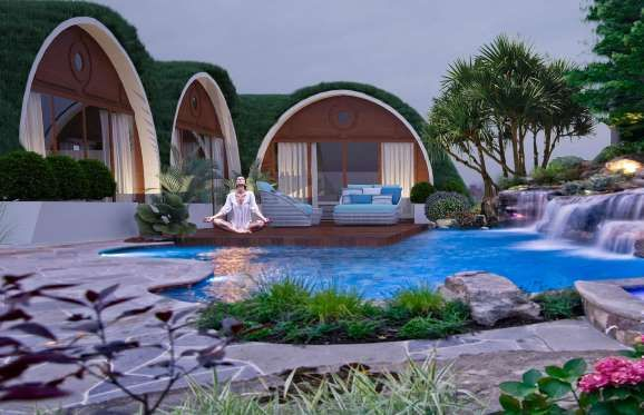 If you've ever wanted to live like a hobbit, look no further than Green Magic's earth-sheltered micr... - Green Magic