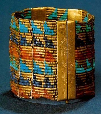 Древнеегипетские украшения: ювелирные изделия, одежда и головные уборы | Искусство Древнего мира
