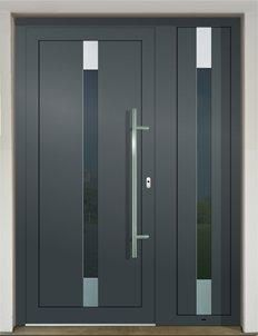 GAVA 491+491/2 RAL 7016 vchodove dvere