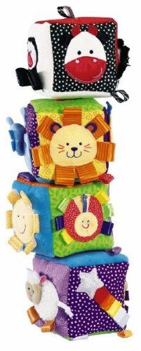 Taggies Big Soft Blocks - Early Years Big Soft BlocksKeep children busy with Early Years Big Soft Blocks. Light weight, multi textured and brightly colored, they Stimulate children's senses. Carefully designed to accommodate c... - Learning & Education - Toys