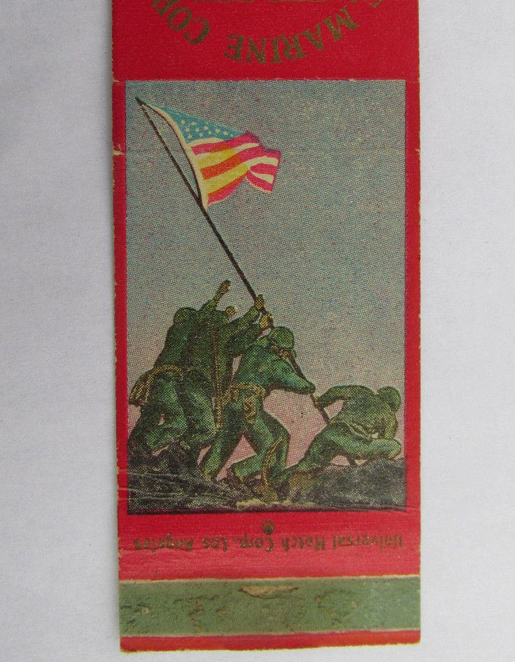 Camp Pendleton California US Marine Corps 20 Strike Military Matchbook Cover CA | eBay